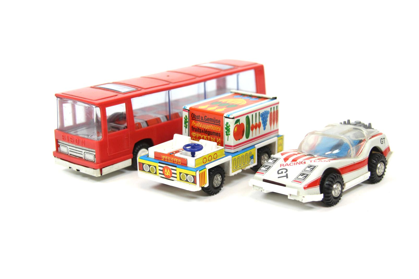 Spielzeugautos ddr bison bus filius lebensmittelauto