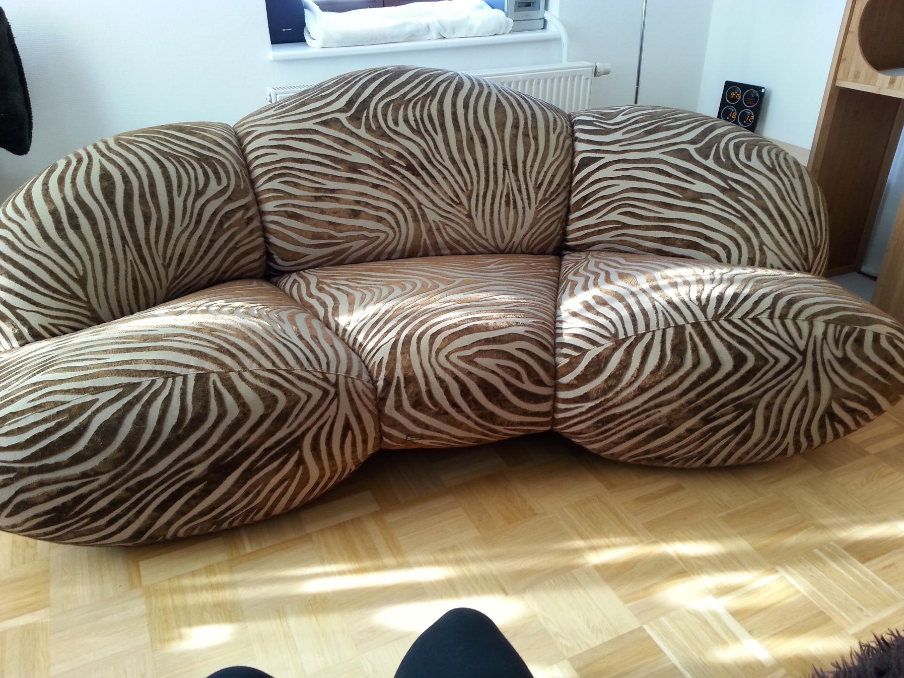 original bretz designer sofa cultsofa 75x205x100 cm couch. Black Bedroom Furniture Sets. Home Design Ideas