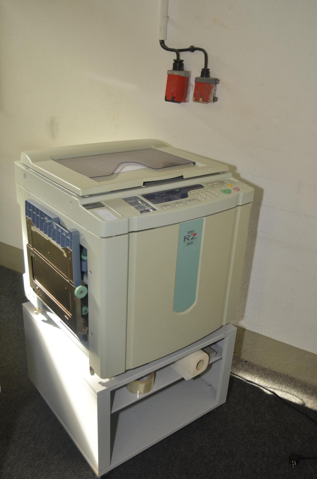 digitaldrucker riso rz300ep hochgeschwindigkeits drucker. Black Bedroom Furniture Sets. Home Design Ideas