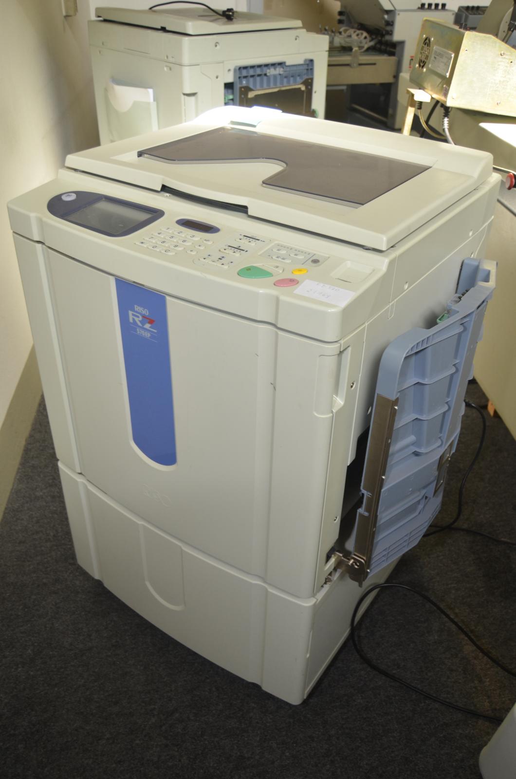 digitaldrucker riso rz570ep hochgeschwindigkeits drucker. Black Bedroom Furniture Sets. Home Design Ideas