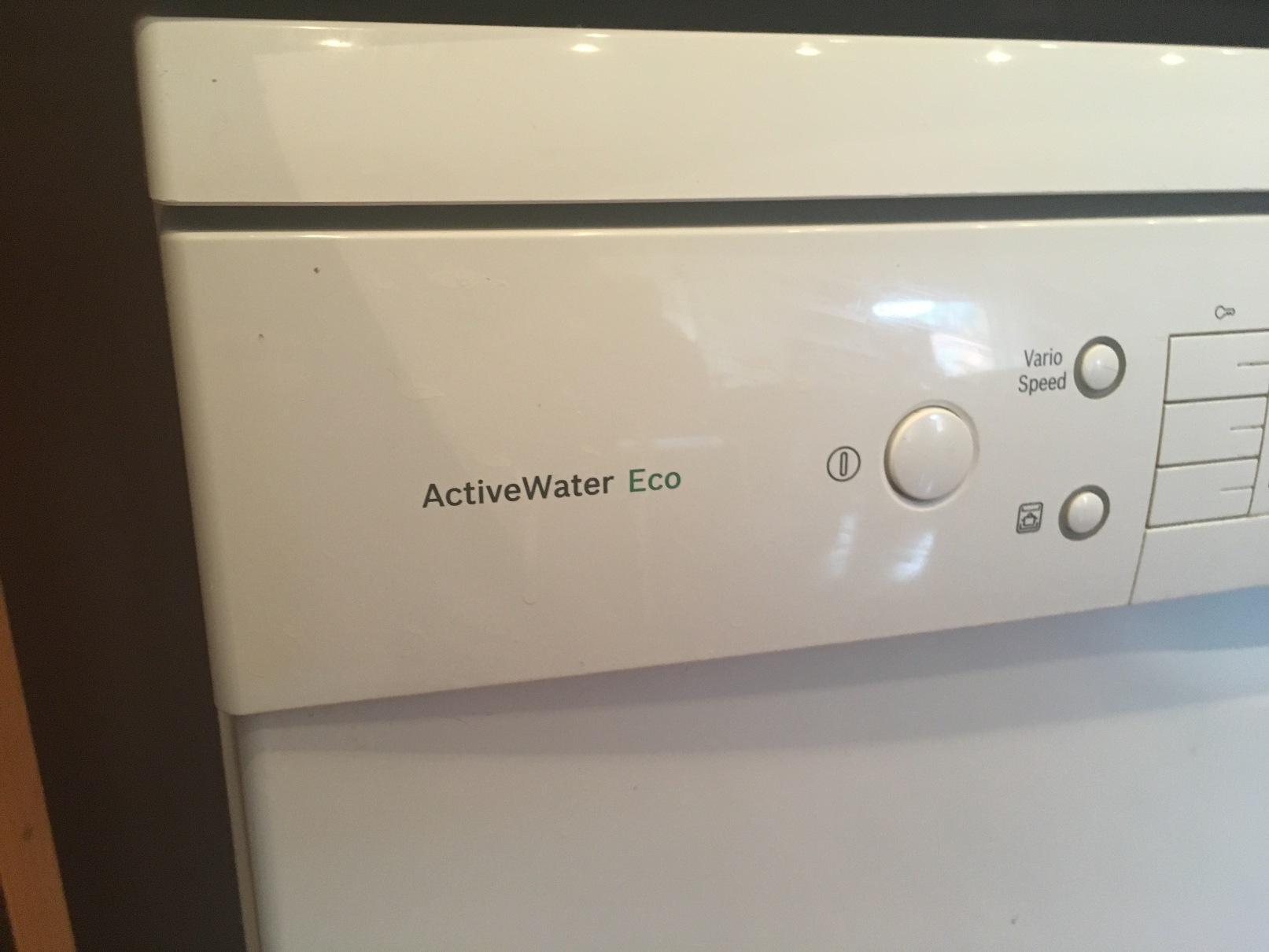 bosch activewater eco sms58n52eu geschirrsp ler 60 cm a unterbau sp lmaschine ebay. Black Bedroom Furniture Sets. Home Design Ideas