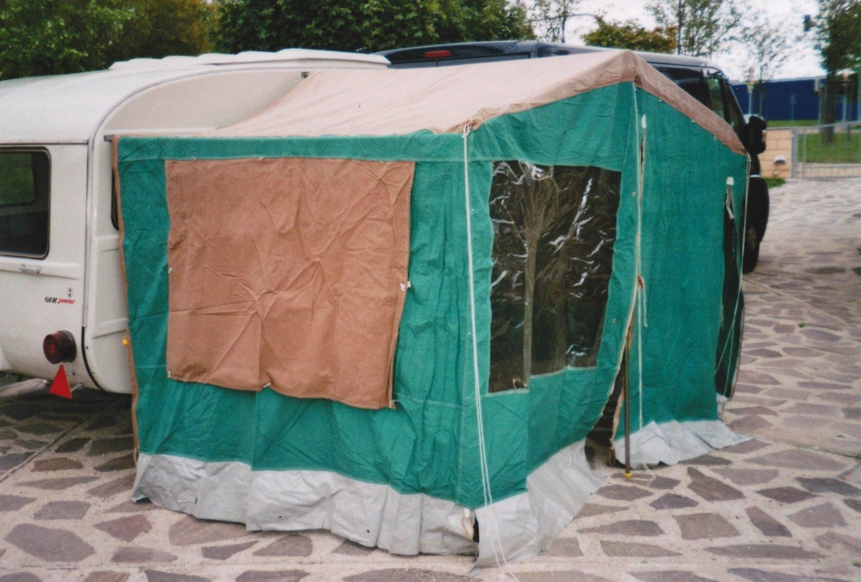 vorzelt f r qek junior original ddr ohne gest nge camping. Black Bedroom Furniture Sets. Home Design Ideas