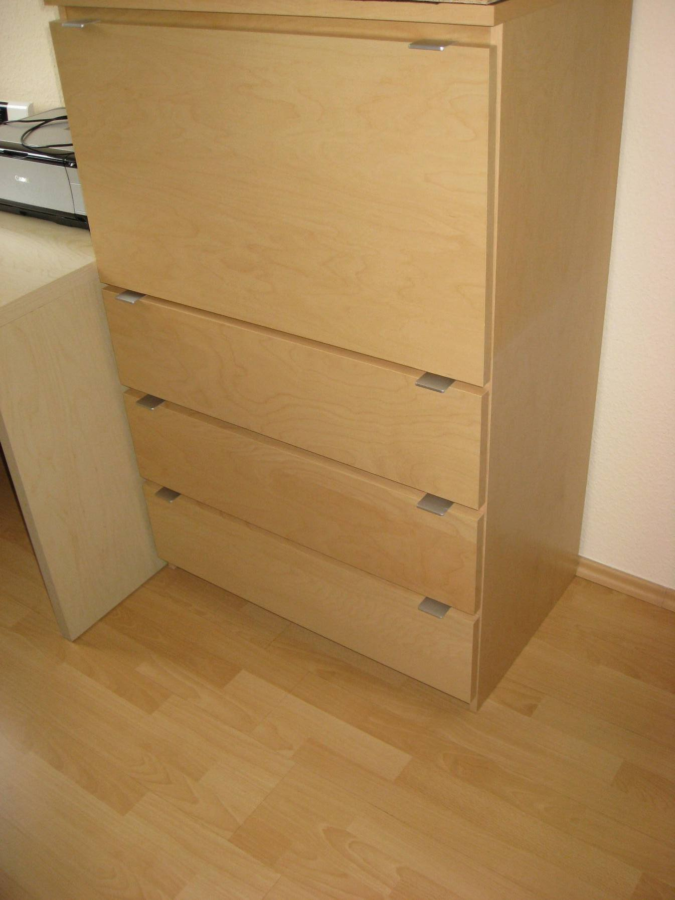 ikea jonas sekret r 123 5x48x80 cm b roschrank aktenschrank birke optik schrank ebay. Black Bedroom Furniture Sets. Home Design Ideas