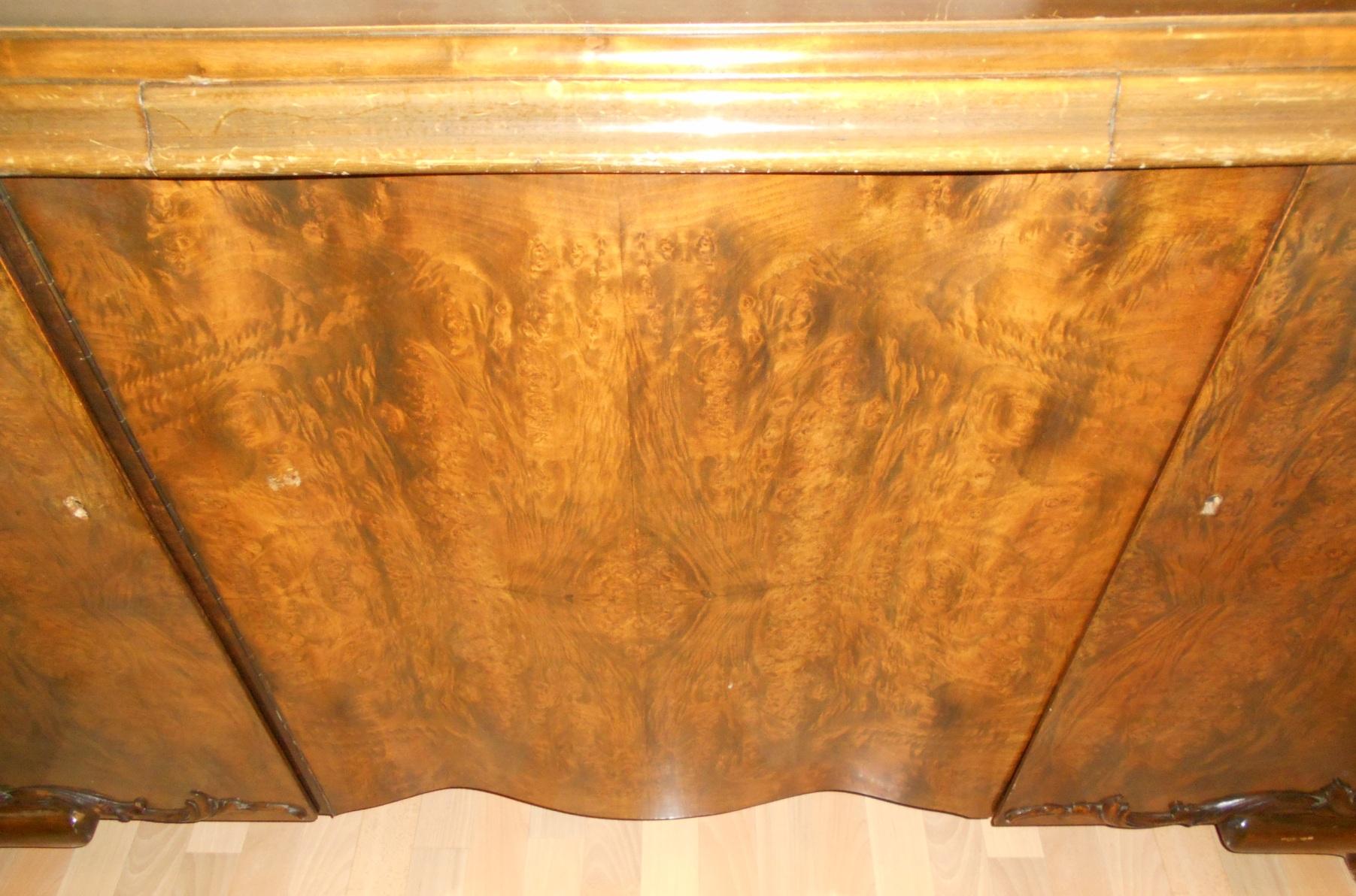 sideboard antik jugendstil art deco kommode schreibtisch funktion massiv holz ebay. Black Bedroom Furniture Sets. Home Design Ideas