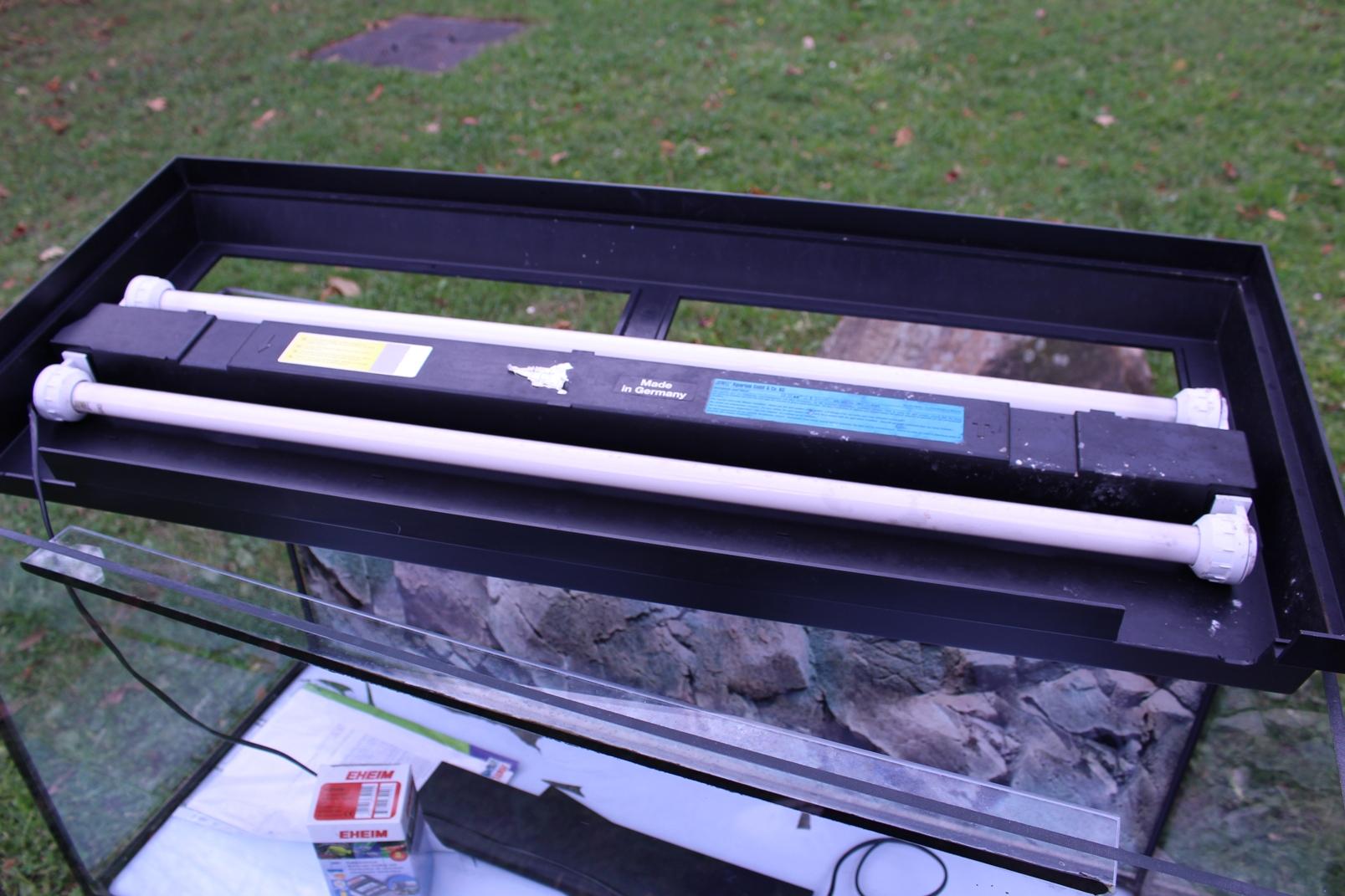 aquarium 200 liter m juwel duolux beleuchtung eheim futterautomat s wasser ebay. Black Bedroom Furniture Sets. Home Design Ideas