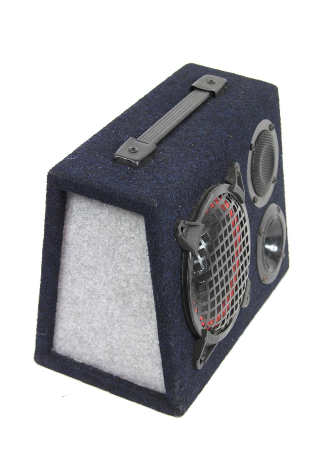 kfz lautsprechersystem mittelt ner tieft ner bass lautsprecher boxen in chassis ebay. Black Bedroom Furniture Sets. Home Design Ideas