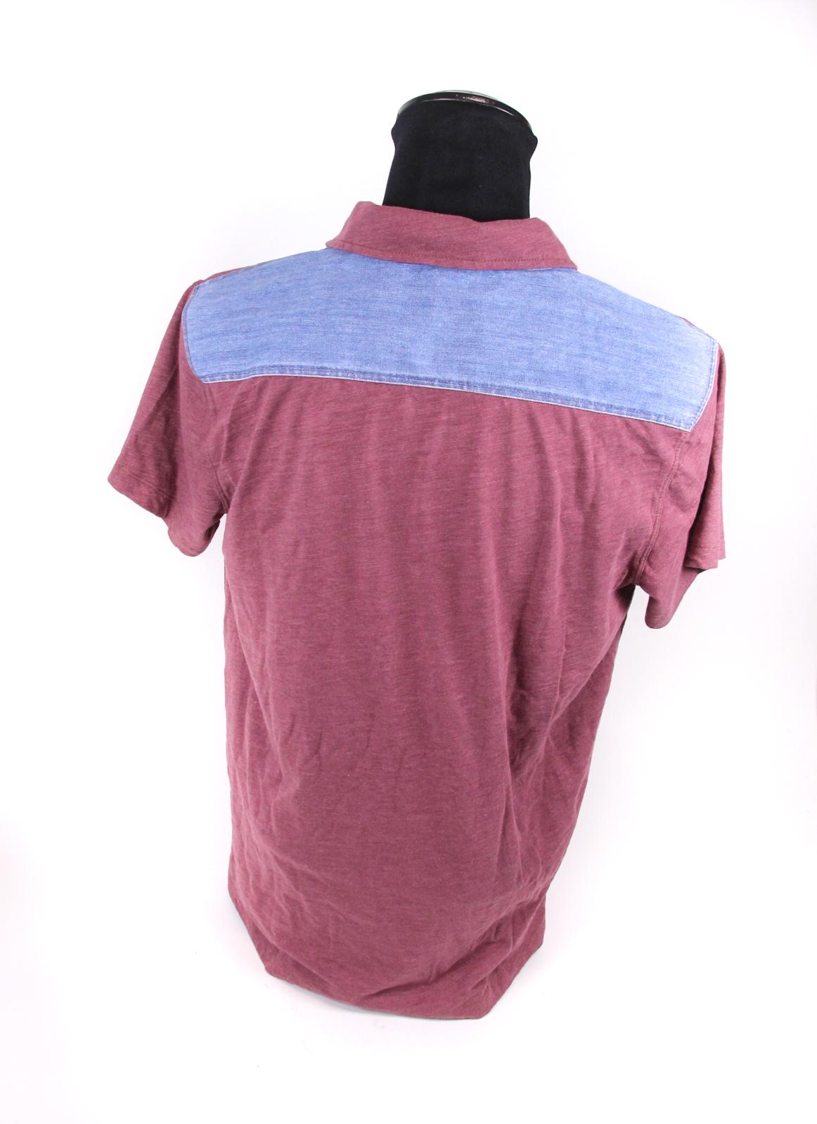 hugo boss herren poloshirt gr l violett rot jeans kurzarm. Black Bedroom Furniture Sets. Home Design Ideas