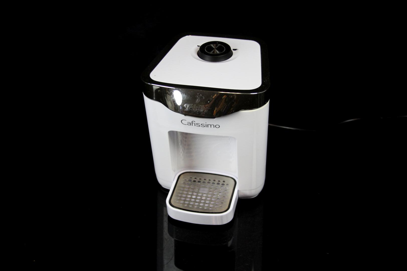tchibo cafissimo duo kapselmaschine kapsel kaffeemaschine kaffeeautomat weiss ebay. Black Bedroom Furniture Sets. Home Design Ideas
