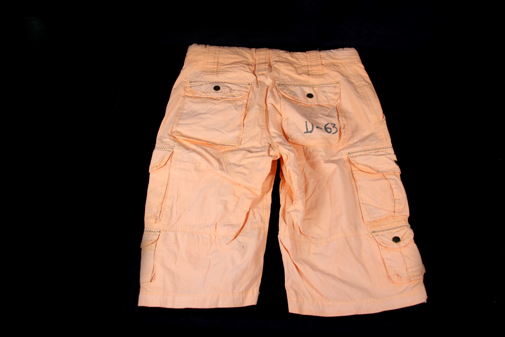 bequeme camp david cargo shorts gr s m lachs bermudas. Black Bedroom Furniture Sets. Home Design Ideas