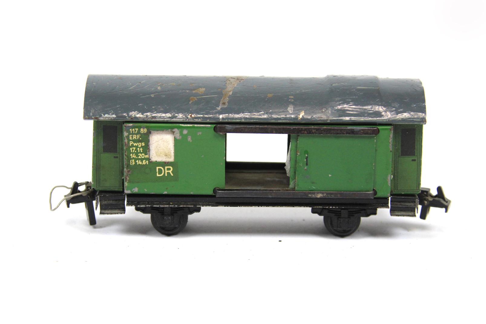 2 stadtilm packwagen 117 89 dr spur s ddr postwagen. Black Bedroom Furniture Sets. Home Design Ideas