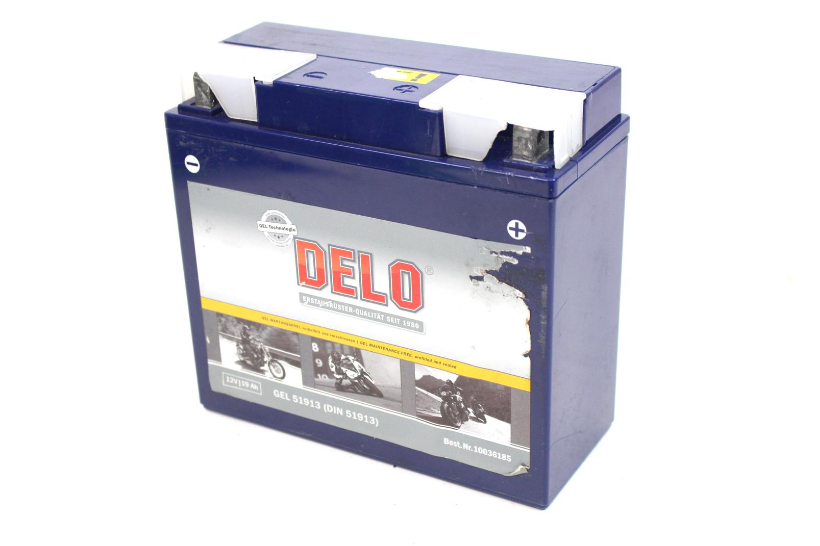 delo 51913 gel batterie starterbatterie 12v bmw r 45 1200. Black Bedroom Furniture Sets. Home Design Ideas