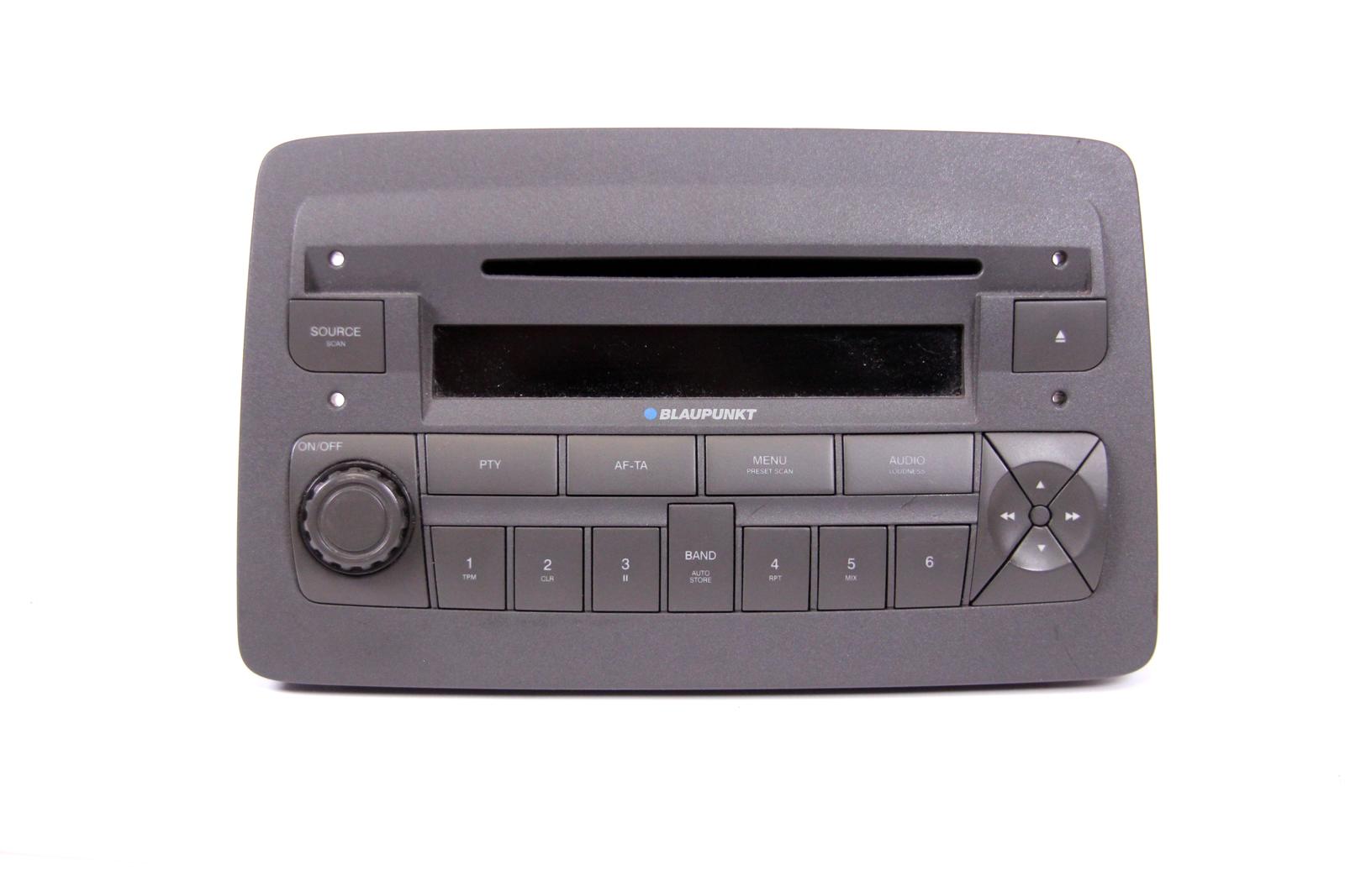 fiat panda autoradio cd radio player blaupunkt 7643363316 169 cd radio code ebay. Black Bedroom Furniture Sets. Home Design Ideas