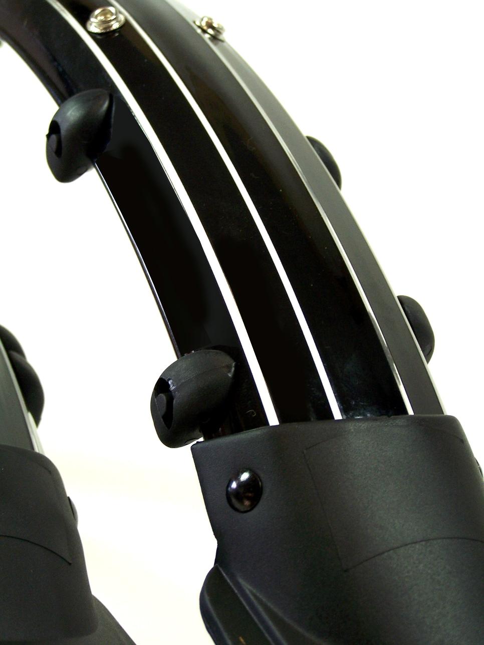 2x fahrrad schutzblech schwarz 20 24 26 28 zoll f r. Black Bedroom Furniture Sets. Home Design Ideas