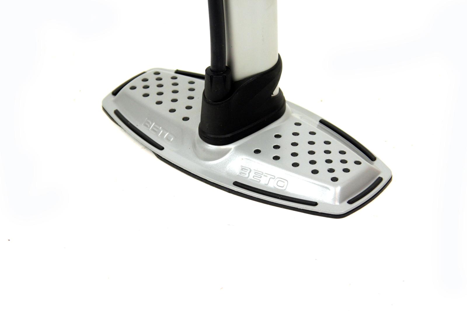 beto standkompressor bis 11 bar 160 psi fahrrad standpumpe. Black Bedroom Furniture Sets. Home Design Ideas