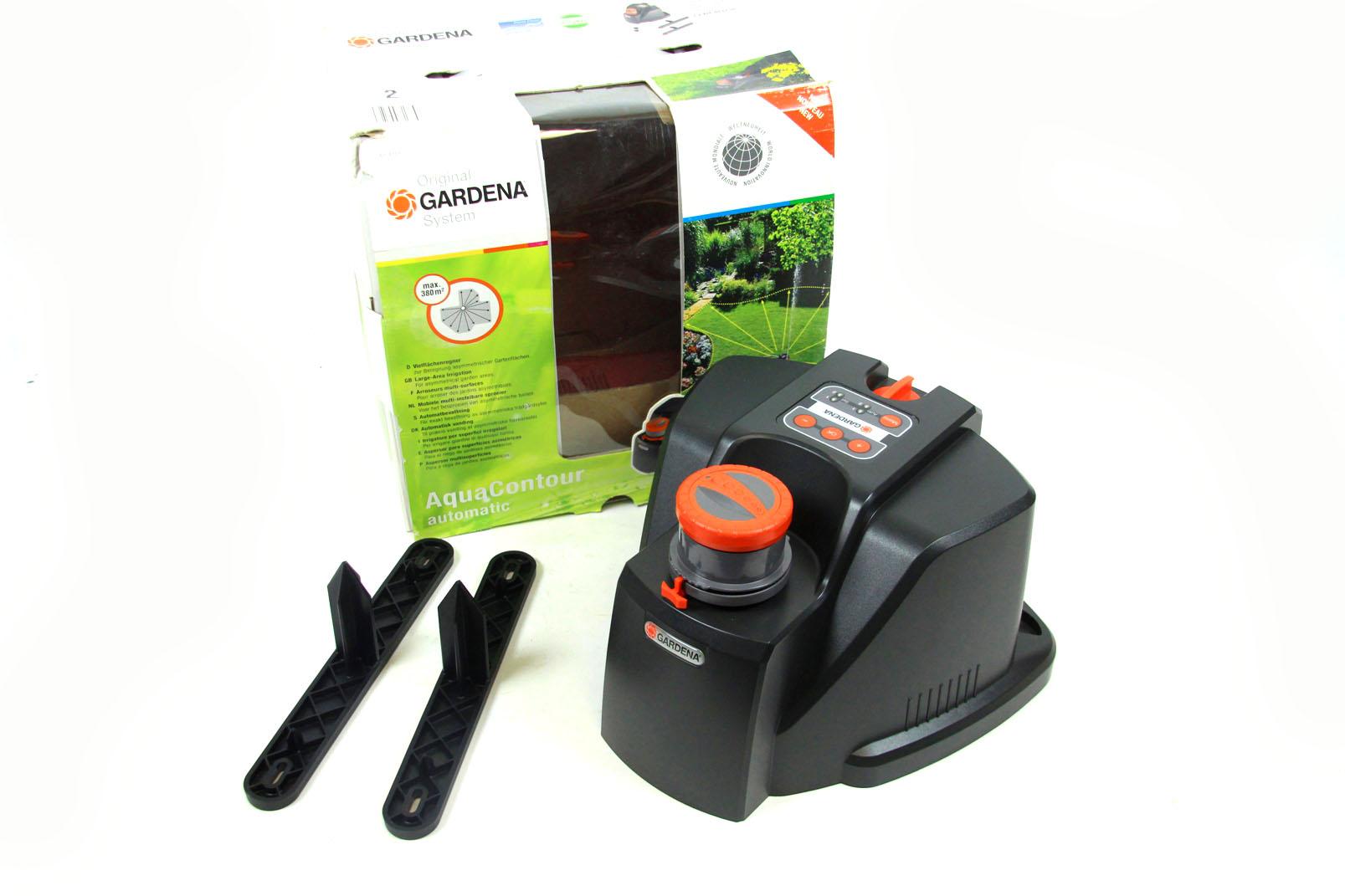 gardena aquacotour automatic 8133 vielfl chen regner garten bew sserung sprenger. Black Bedroom Furniture Sets. Home Design Ideas