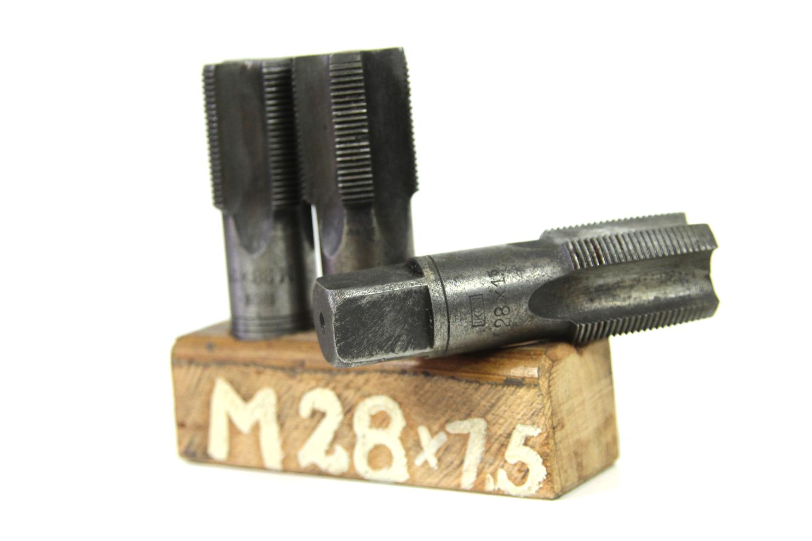 3 gewinde bohrer m28x1 5 mm original ddr ikon hss gewinde. Black Bedroom Furniture Sets. Home Design Ideas