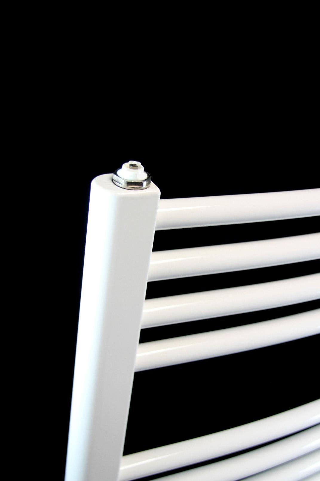 badheizk rper 620x1690 pergamon weiss gebogen handtuch heizk rper heizung neu. Black Bedroom Furniture Sets. Home Design Ideas