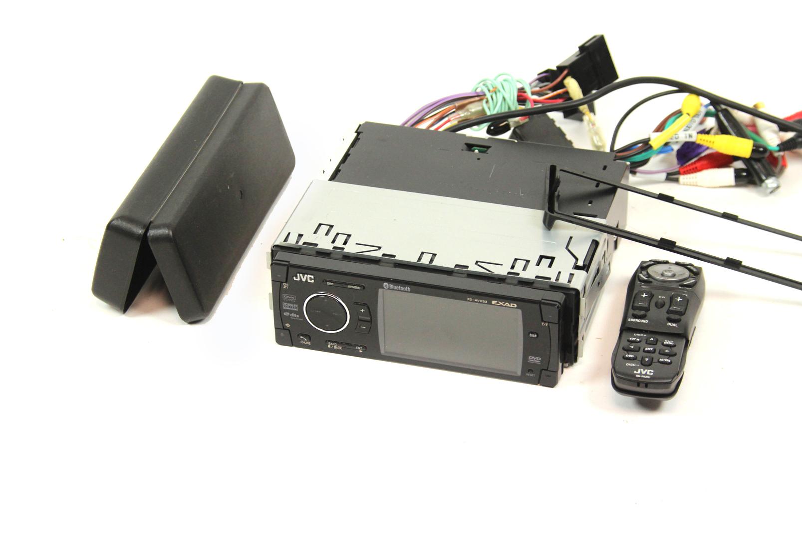 jvc kd avx33 dvd cd receiver bluetooth autoradio kfz tuner mp3 usb radio in ovp ebay. Black Bedroom Furniture Sets. Home Design Ideas