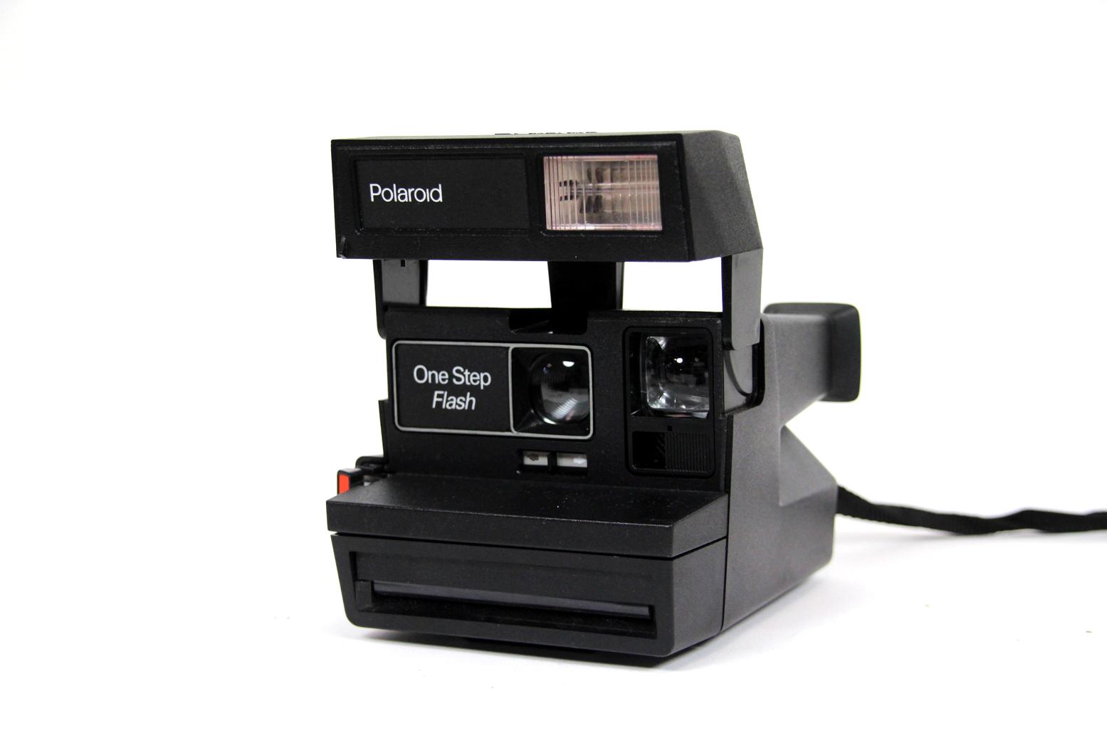 polaroid one step flash sofortbildkamera retro instant camera sofortbild kamera ebay. Black Bedroom Furniture Sets. Home Design Ideas