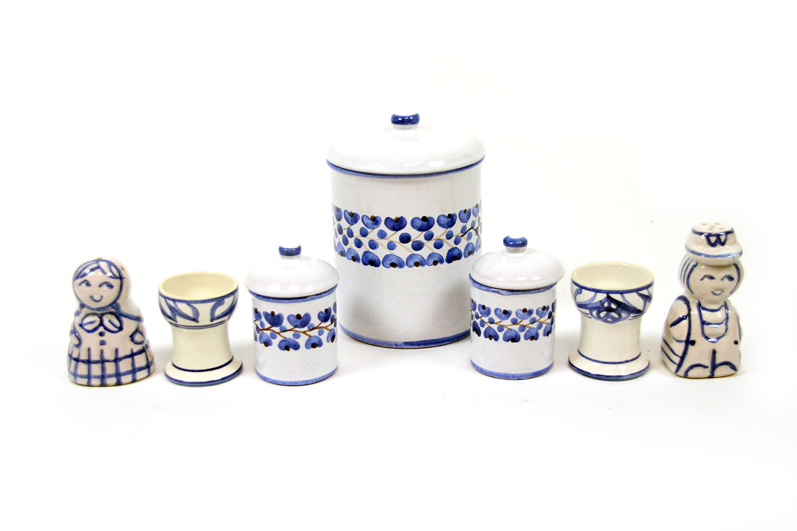 rustikales 27 tlg keramikset pulsnitz lausitz b rgel. Black Bedroom Furniture Sets. Home Design Ideas