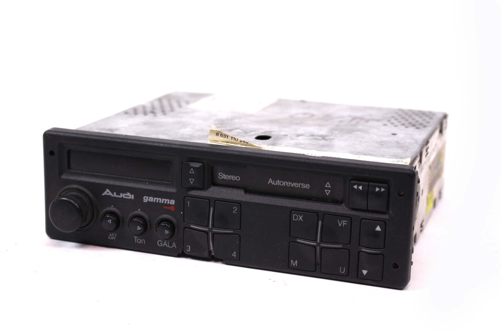 orig audi gamma stereo mc autoradio kassette audi 80 100 a3 a4 a6 893035186b ebay. Black Bedroom Furniture Sets. Home Design Ideas