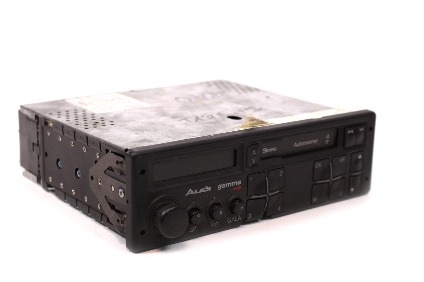 orig audi gamma stereo mc autoradio kassette audi 80 100. Black Bedroom Furniture Sets. Home Design Ideas