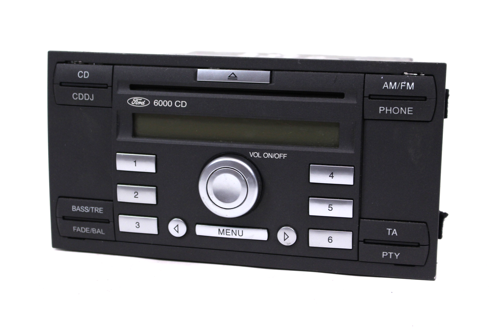 orig ford autoradio single cd 6000 mit code focus mondeo fiesta transit galaxy ebay. Black Bedroom Furniture Sets. Home Design Ideas