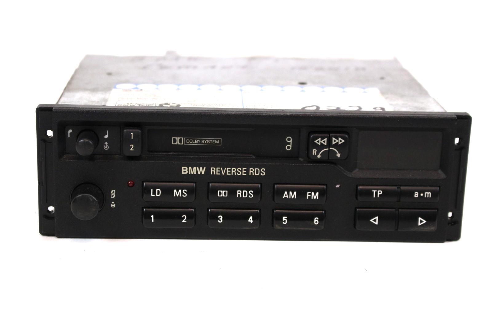 autoradio blaupunkt mc kassette bmw reverse rds 7643835340. Black Bedroom Furniture Sets. Home Design Ideas