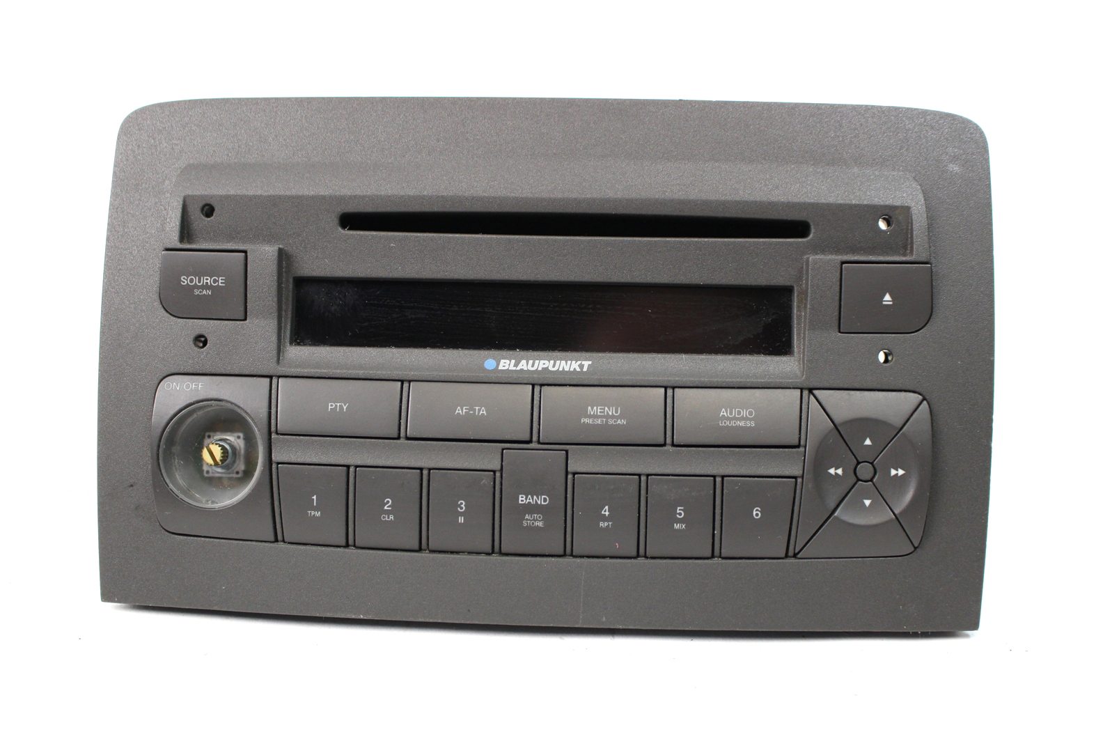 fiat panda autoradio cd radio player blaupunkt 7645324316. Black Bedroom Furniture Sets. Home Design Ideas