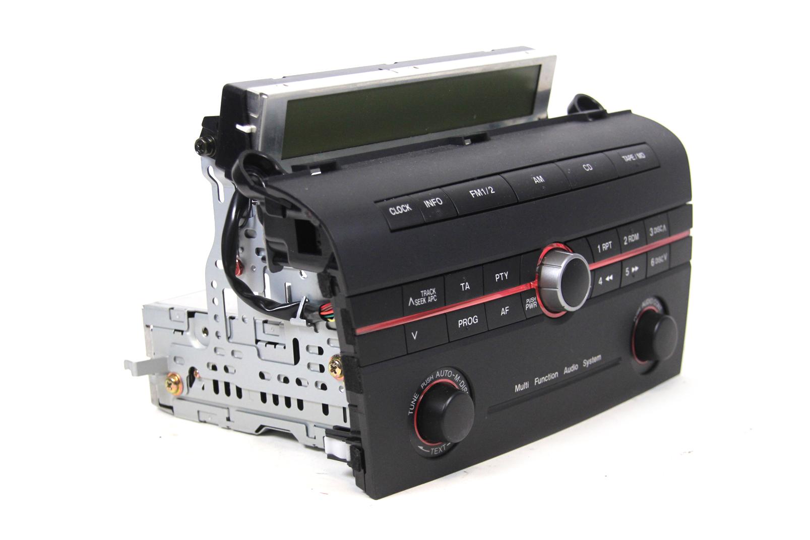 autoradio mazda 3 iii fm radio mit display spieler player. Black Bedroom Furniture Sets. Home Design Ideas