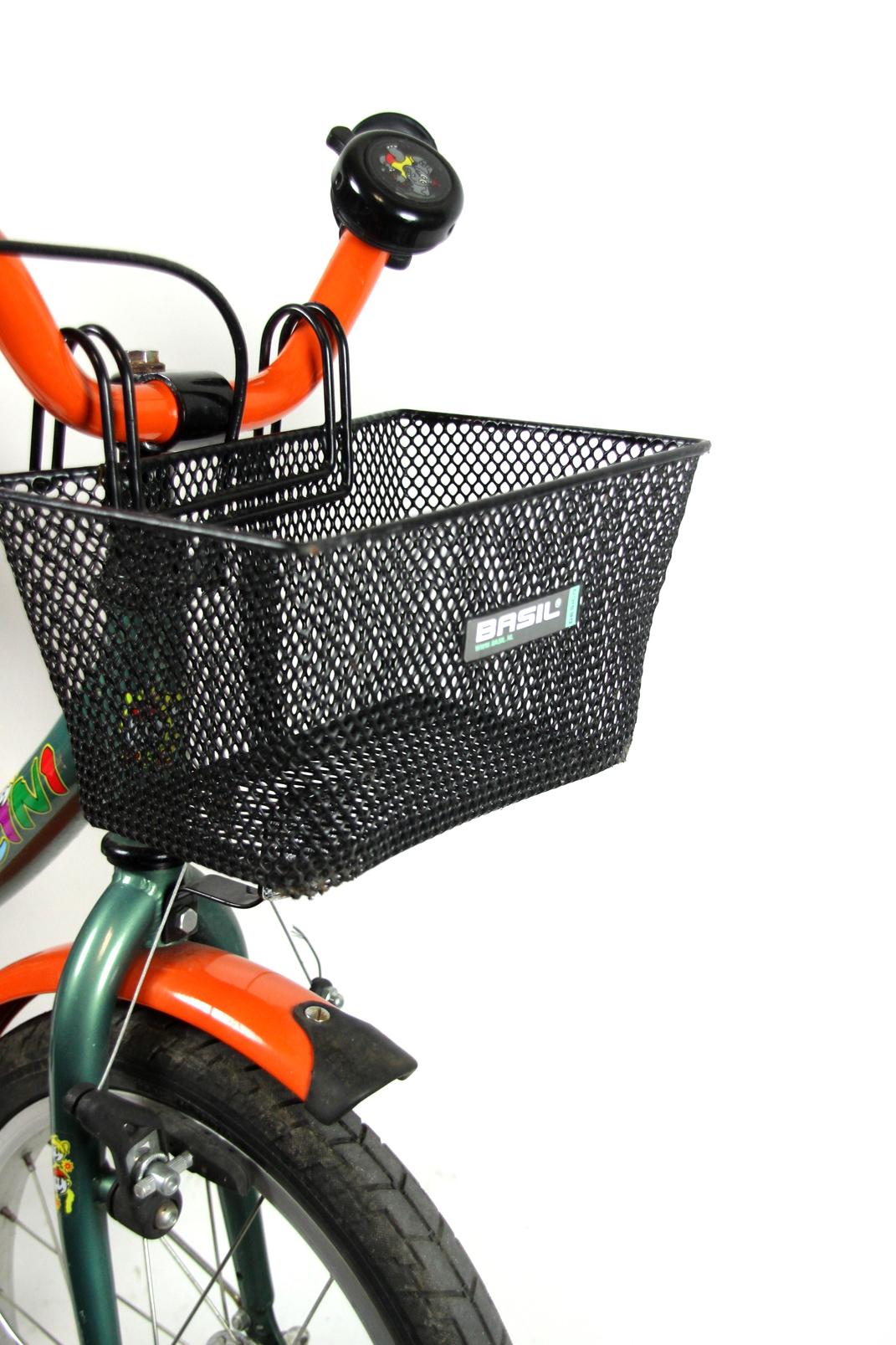 kinder fahrrad bellini kelvin 16 zoll schutzblech korb. Black Bedroom Furniture Sets. Home Design Ideas