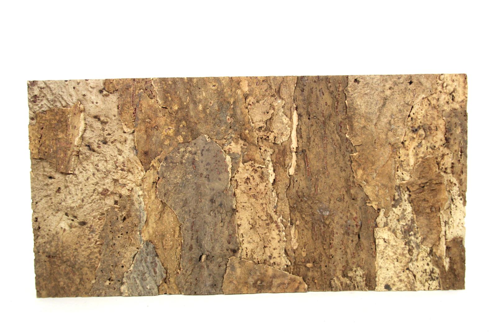korkeiche rinde platte auf kork natur 30x60 cm terrarium garten wohnung pinnwand ebay. Black Bedroom Furniture Sets. Home Design Ideas