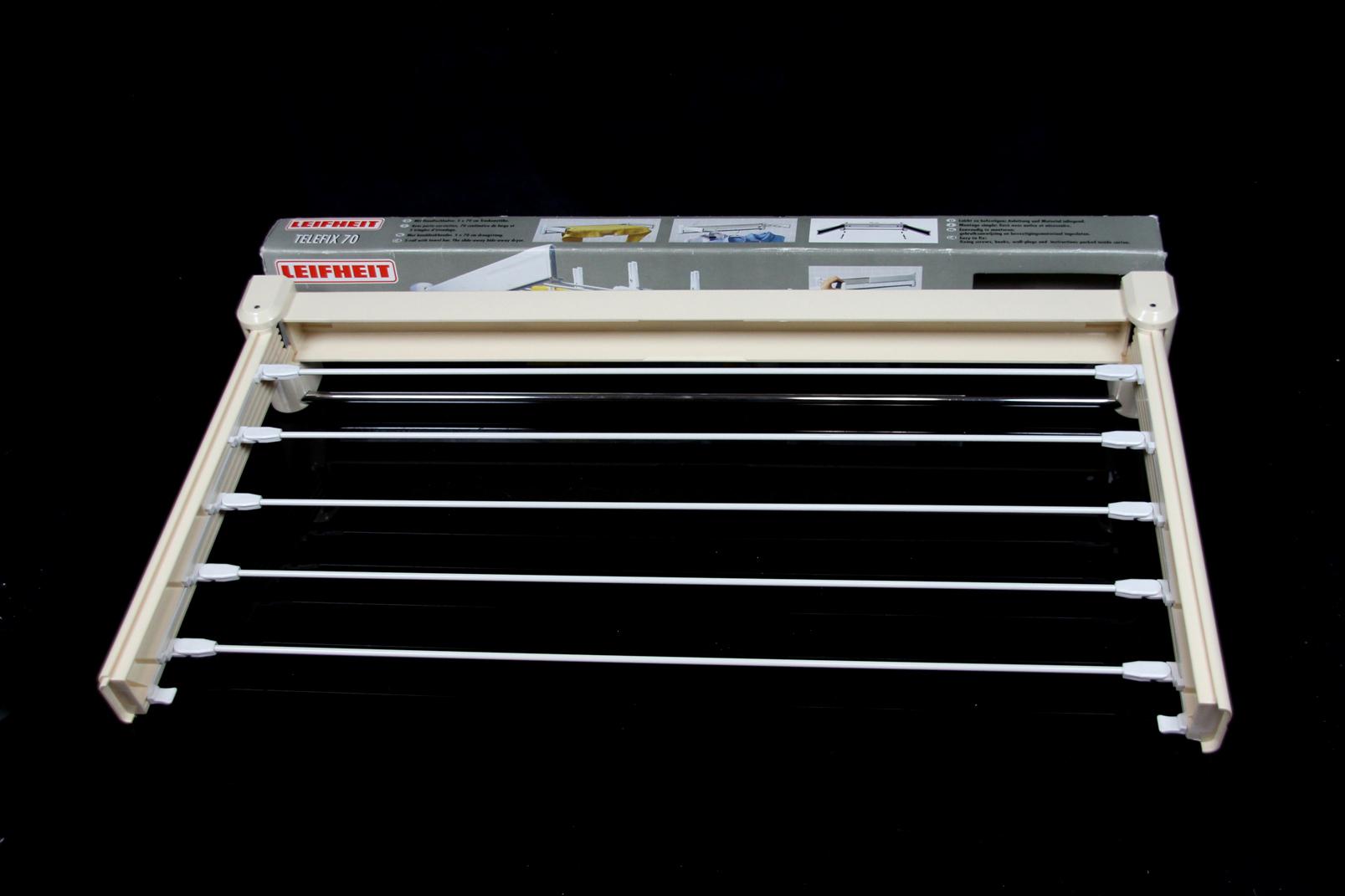 leifheit telegant telefix 70 wandtrockner wand w schetrockner 70x37x10 5 cm ovp. Black Bedroom Furniture Sets. Home Design Ideas