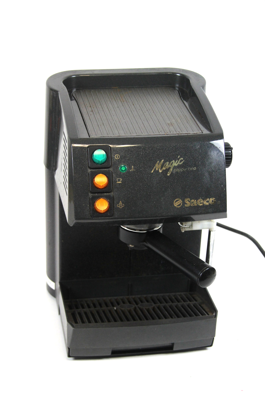saeco magic cappuccino sin 017 siebtr ger kaffeemaschine espresso kaffee automat ebay. Black Bedroom Furniture Sets. Home Design Ideas