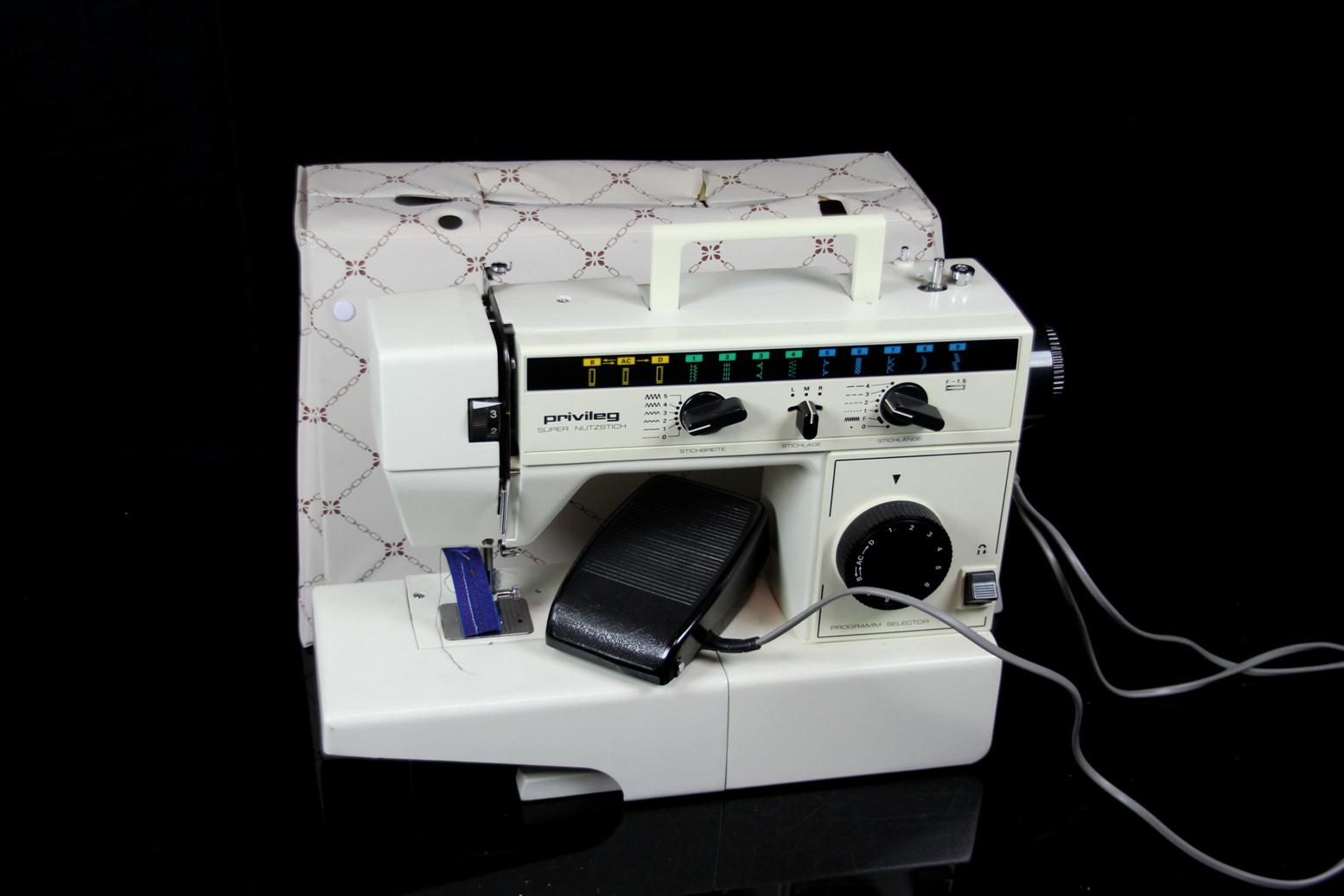 PRIVILEG Modell 663 Supernutzstich Haushalts Nähmaschine  -> Nähmaschine Privileg Super Nutzstich Bedienungsanleitung