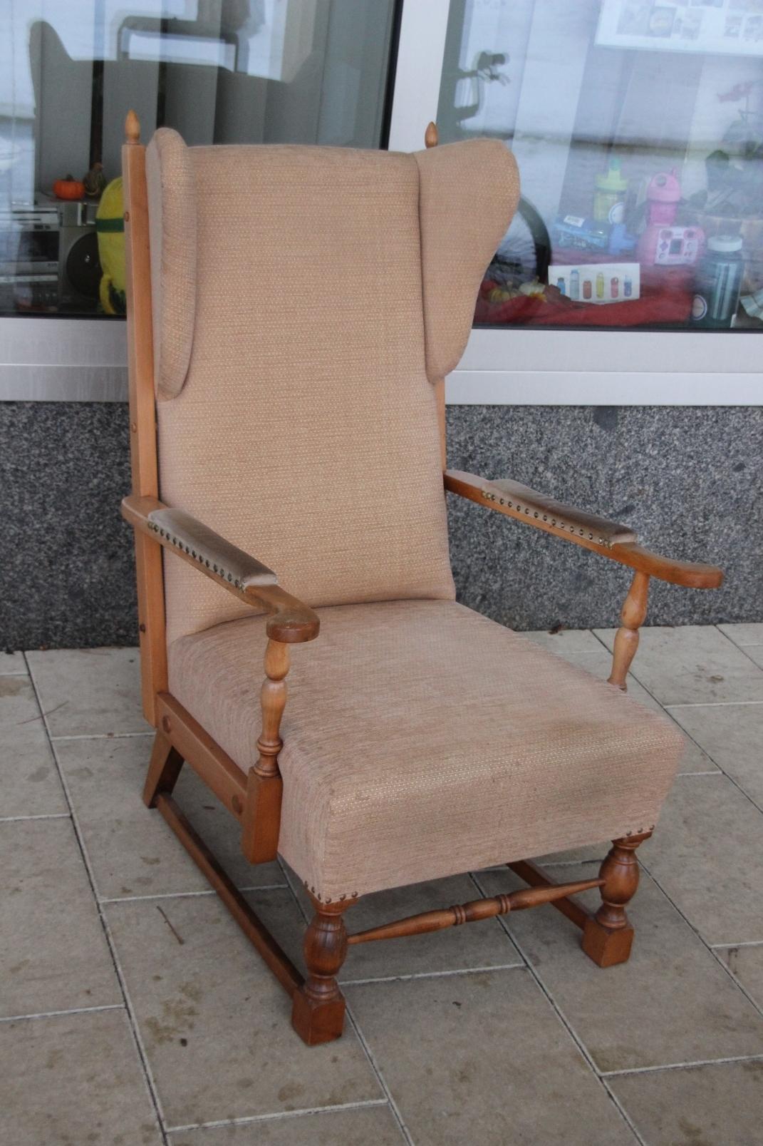 Ohrensessel ikea braun  Ikea Ohrensessel Strandmon Gebraucht: Sessel blau: seattle sessel ...