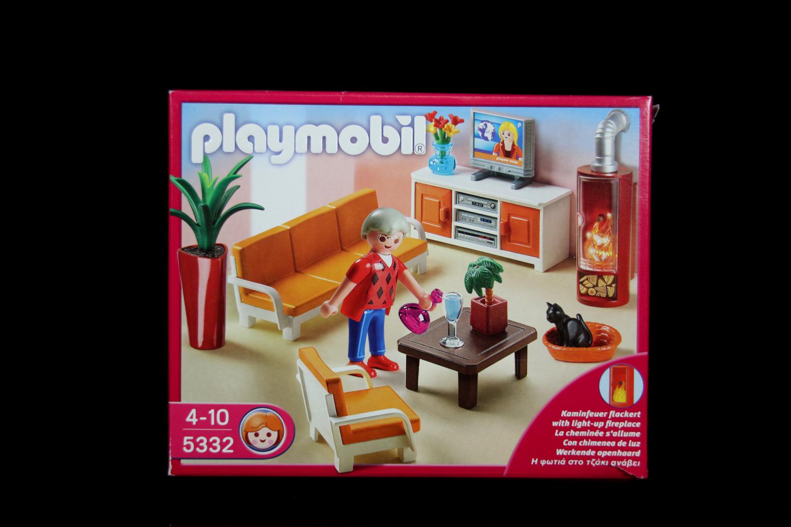 Playmobil 5332 behagliches wohnzimmer mit kamin stube - Playmobil wohnzimmer 5332 ...