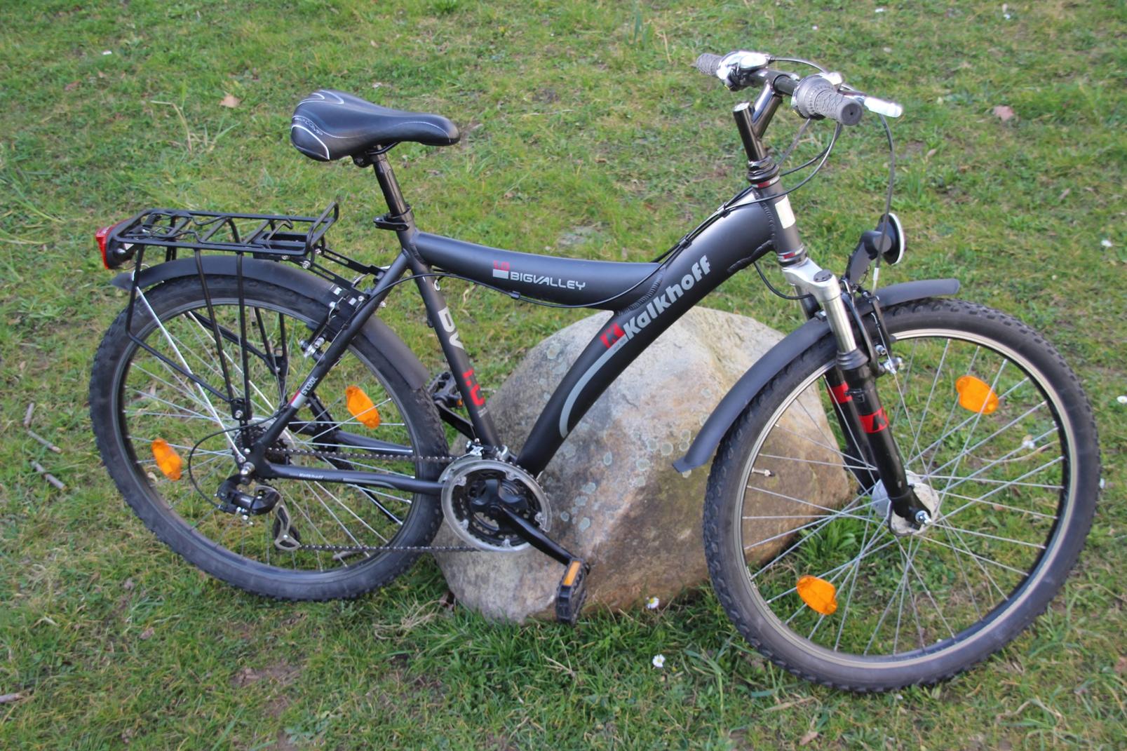 kalkhoff big valley 1 0 jugend fahrrad trekking bike 26. Black Bedroom Furniture Sets. Home Design Ideas