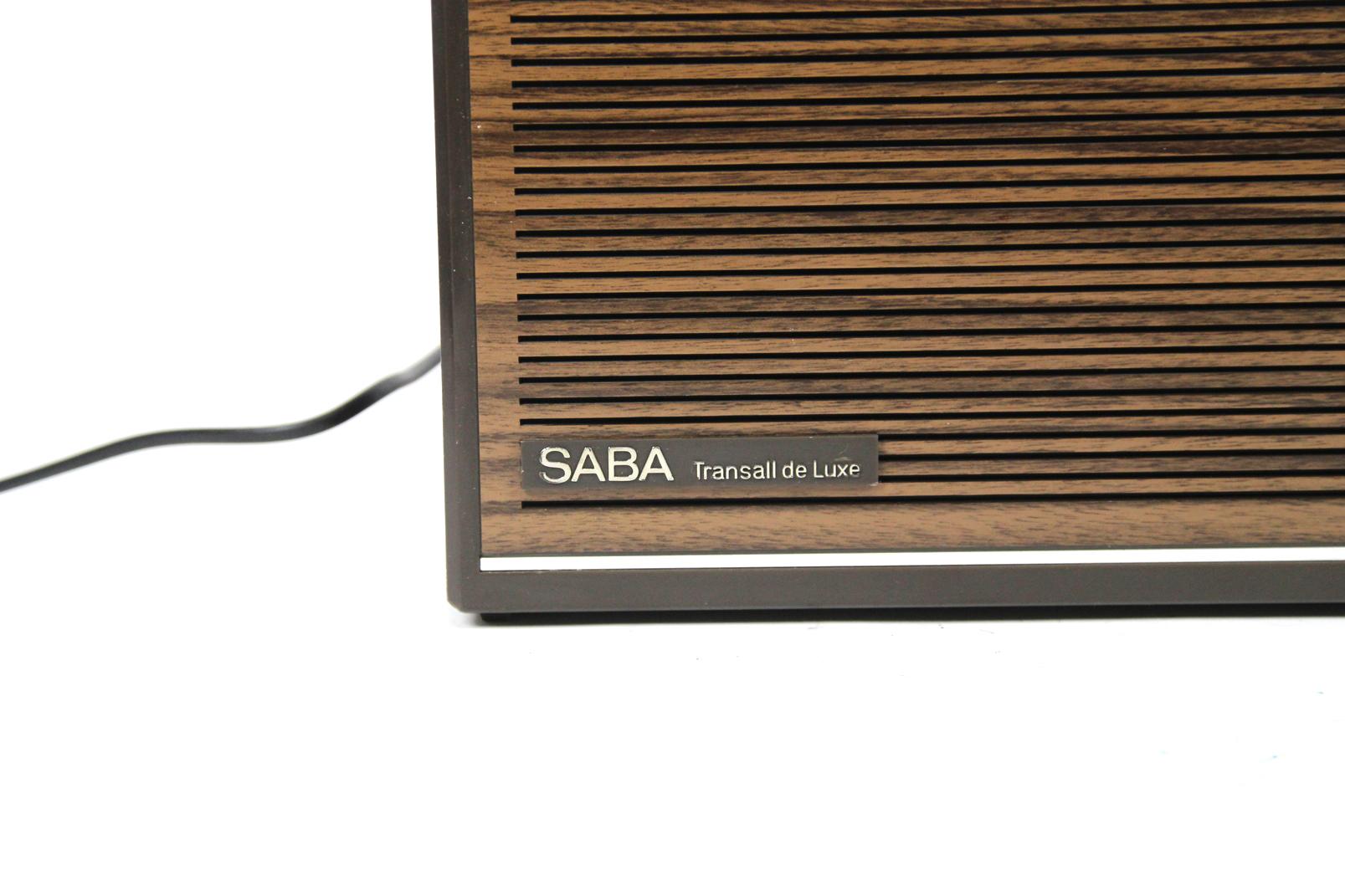 saba transall de luxe automatic g transistorradio kofferradio nostalgie radio ebay. Black Bedroom Furniture Sets. Home Design Ideas