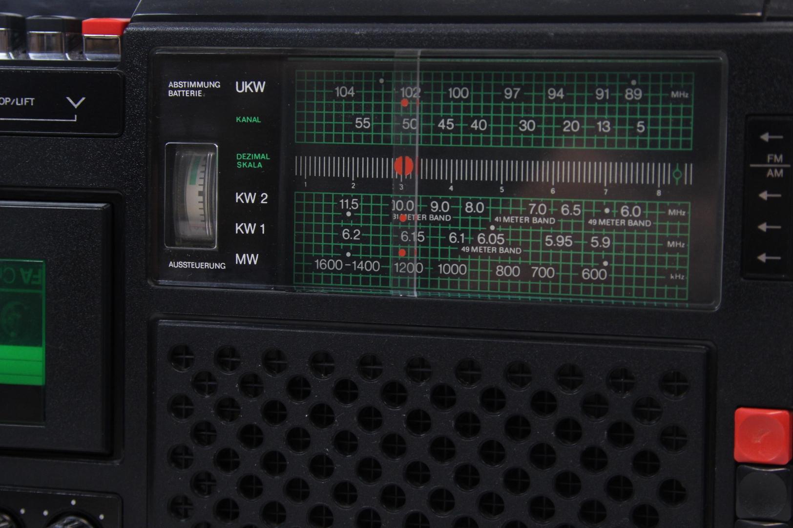 stern r4100 radio radiorecorder rft rundfunkempf nger ddr kassettenradio 2 ebay. Black Bedroom Furniture Sets. Home Design Ideas