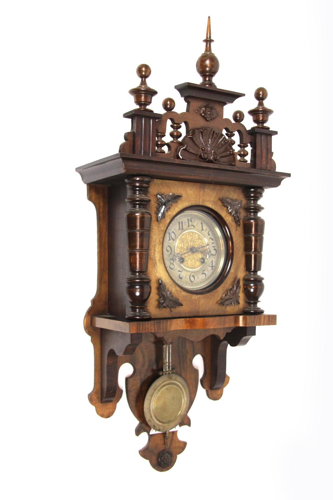 wanduhr holz antik inspirierendes design f r wohnm bel. Black Bedroom Furniture Sets. Home Design Ideas