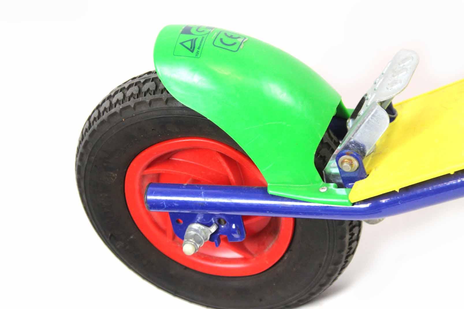 rolly toys kinder roller city scooter mit bremse metall. Black Bedroom Furniture Sets. Home Design Ideas