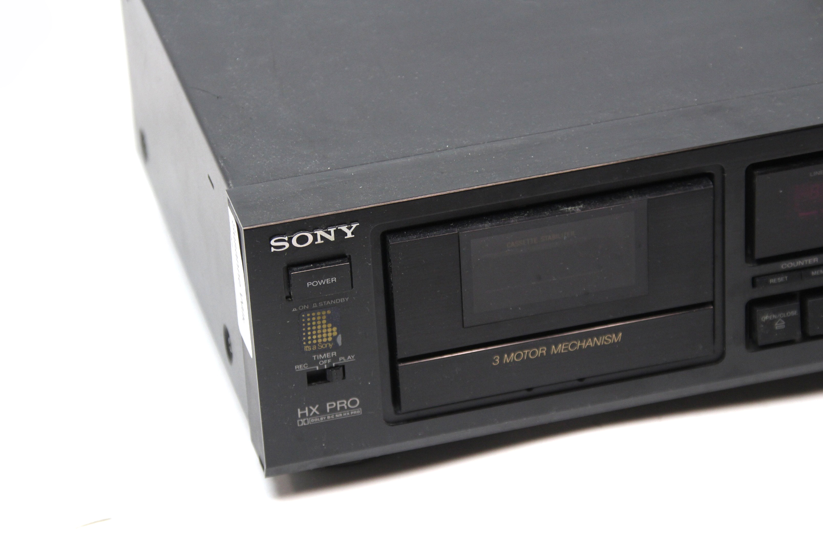 sony tc k520 kassettendeck dolby hx pro mpx kassetten deck tapedeck komponente ebay. Black Bedroom Furniture Sets. Home Design Ideas