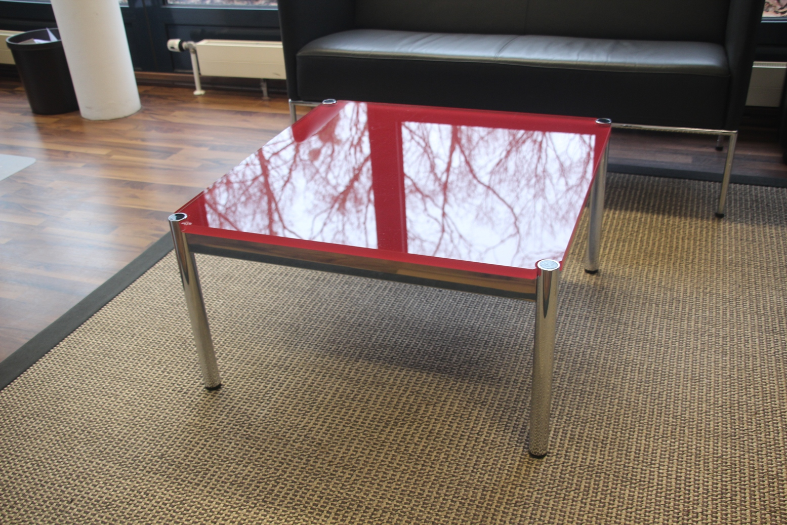 usm haller couchtisch 75x75 cm wohnzimmertisch couch tisch. Black Bedroom Furniture Sets. Home Design Ideas
