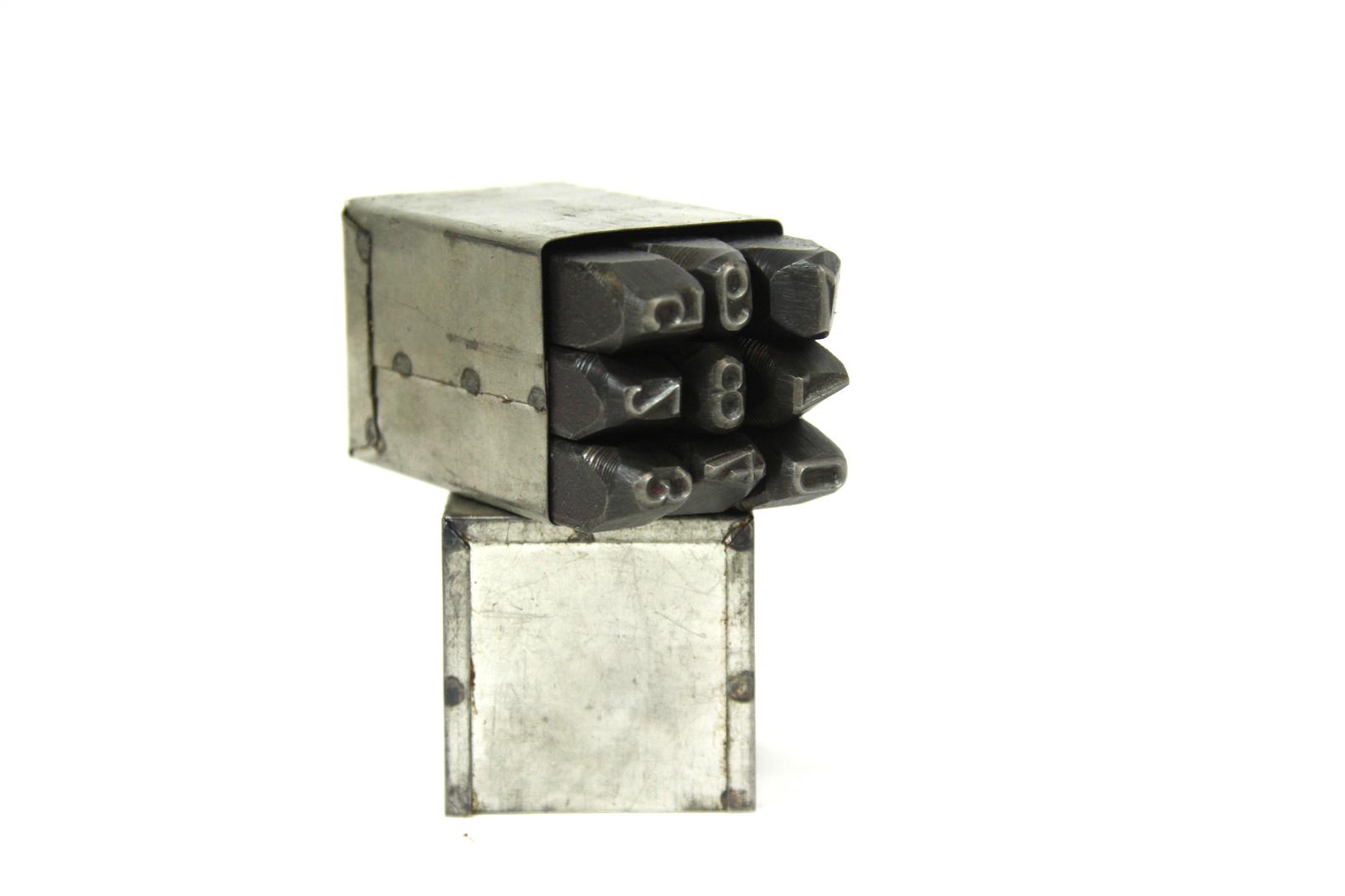 9 schlagzahlen zerbst 0 9 original ddr 8 mm schlagziffern. Black Bedroom Furniture Sets. Home Design Ideas