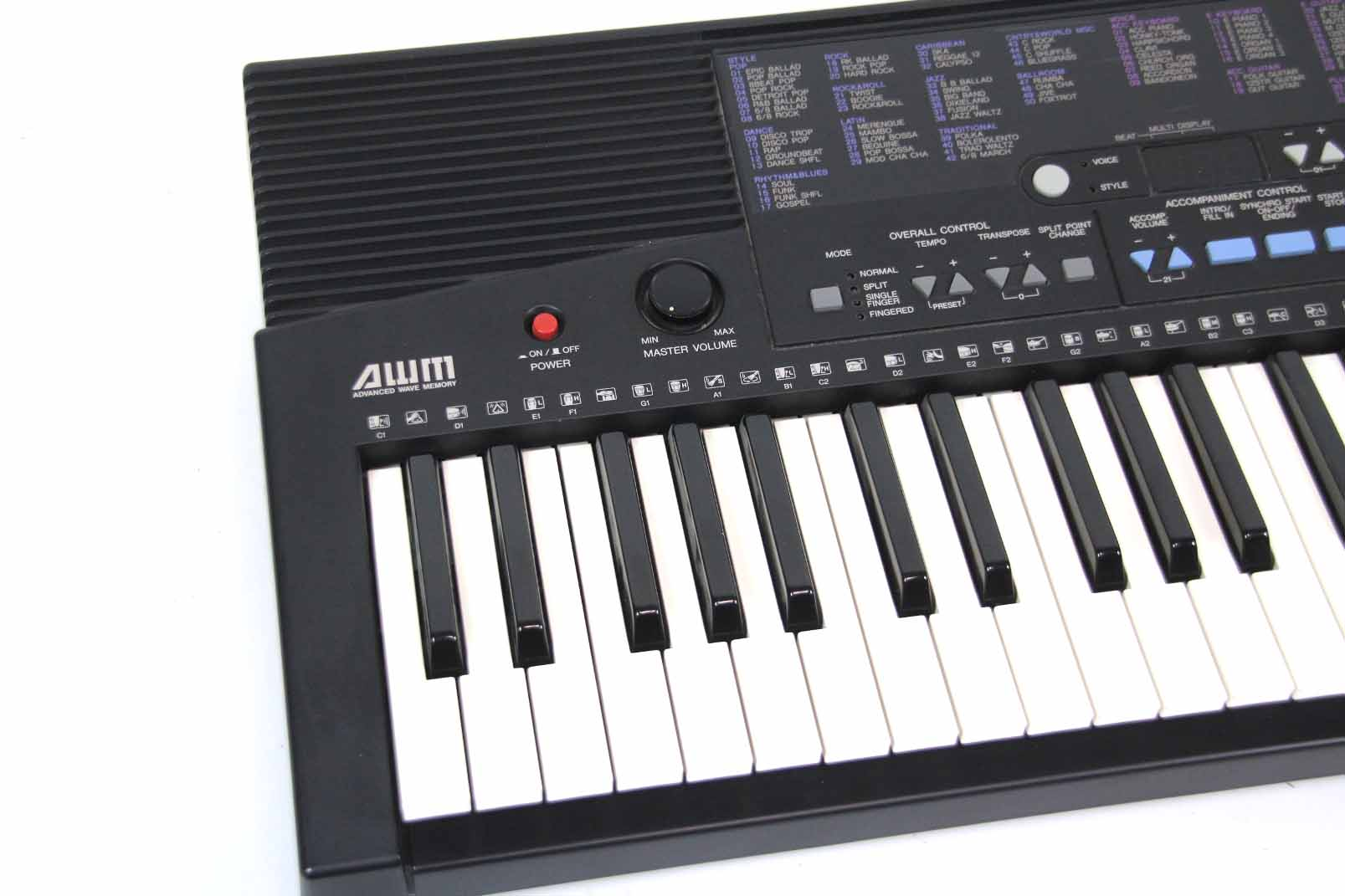 yamaha psr 210 keyboard 61 tasten anschlagdynamik 100. Black Bedroom Furniture Sets. Home Design Ideas