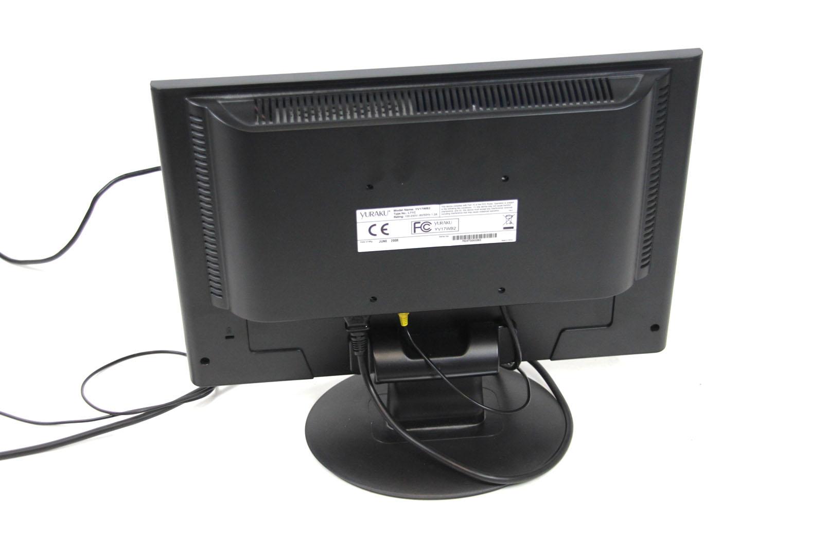 yuraku yv17wb2 17 monitor bildschirm. Black Bedroom Furniture Sets. Home Design Ideas