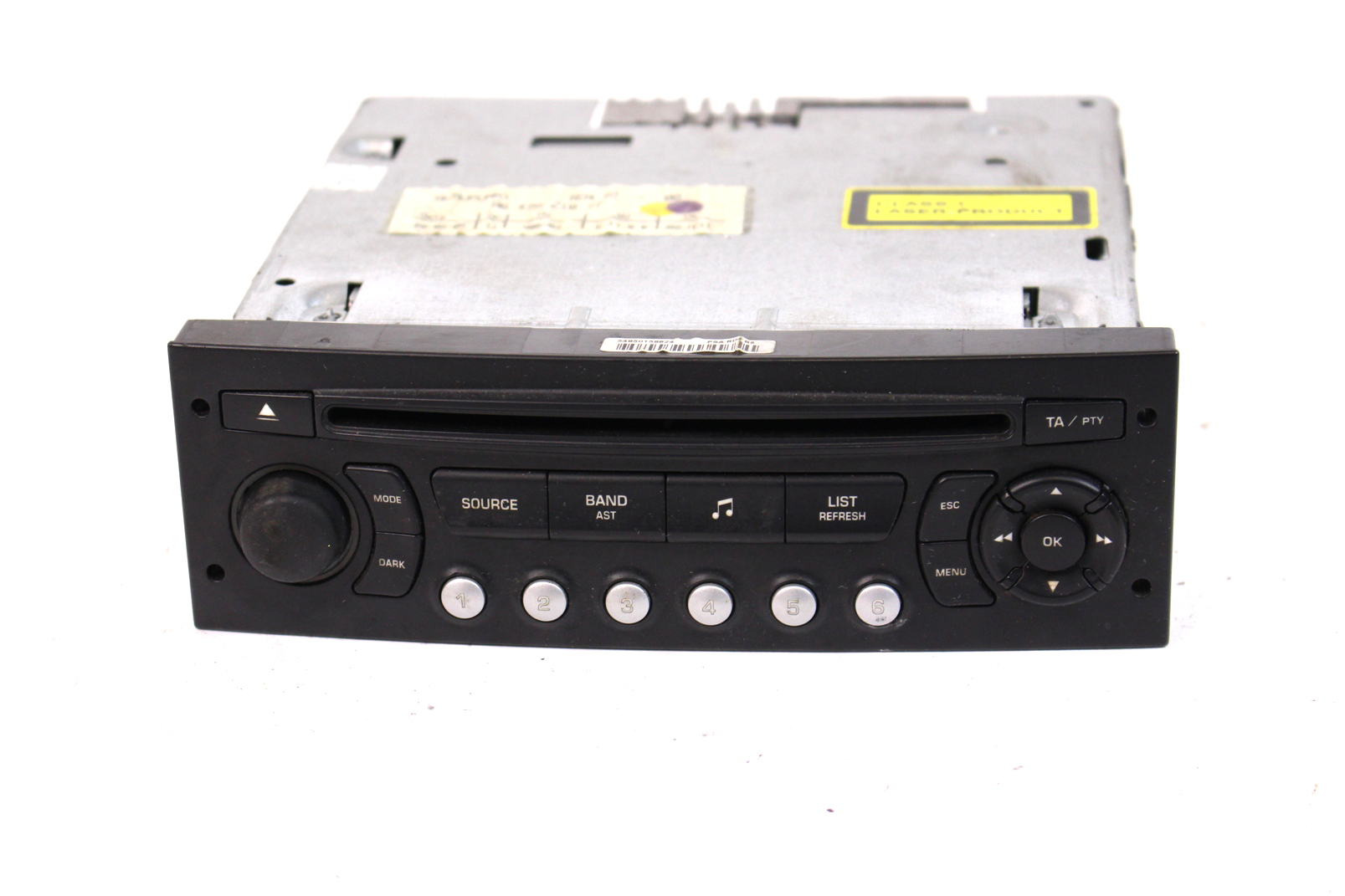 cd autoradio citroen c2 c3 96624490xt siemens vdo player radio ohne code ebay. Black Bedroom Furniture Sets. Home Design Ideas