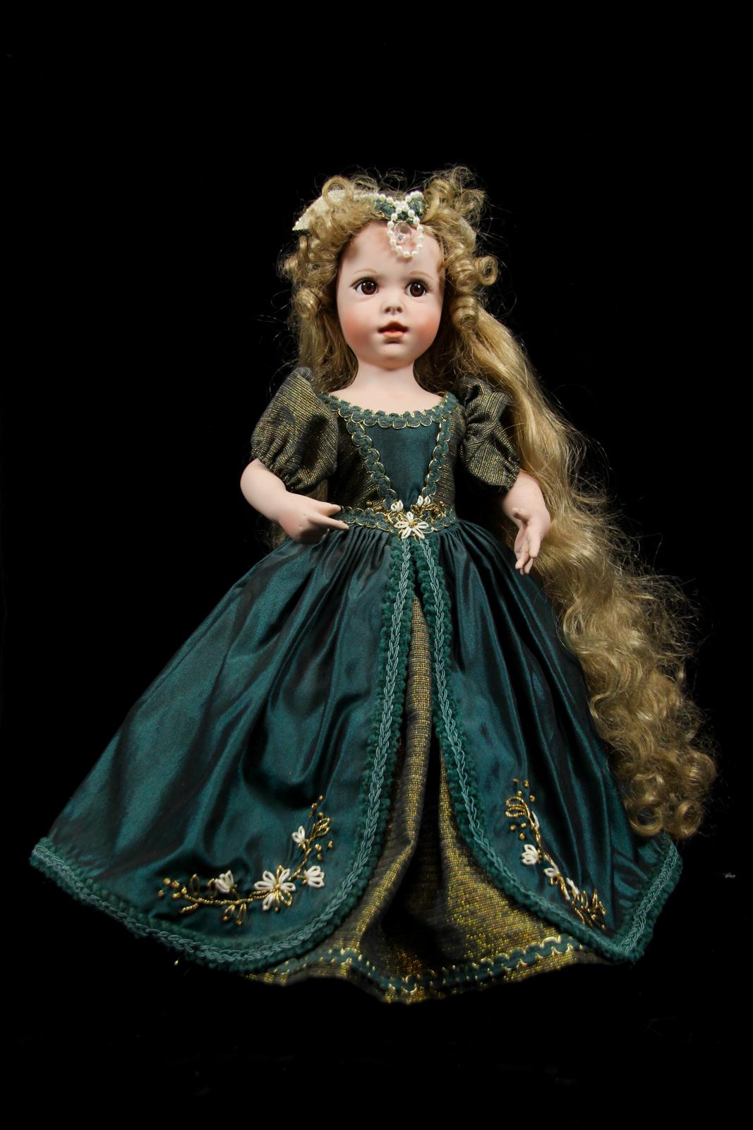doll bijou brigitte sammlerpuppe baby kim 26 cm porzellan. Black Bedroom Furniture Sets. Home Design Ideas