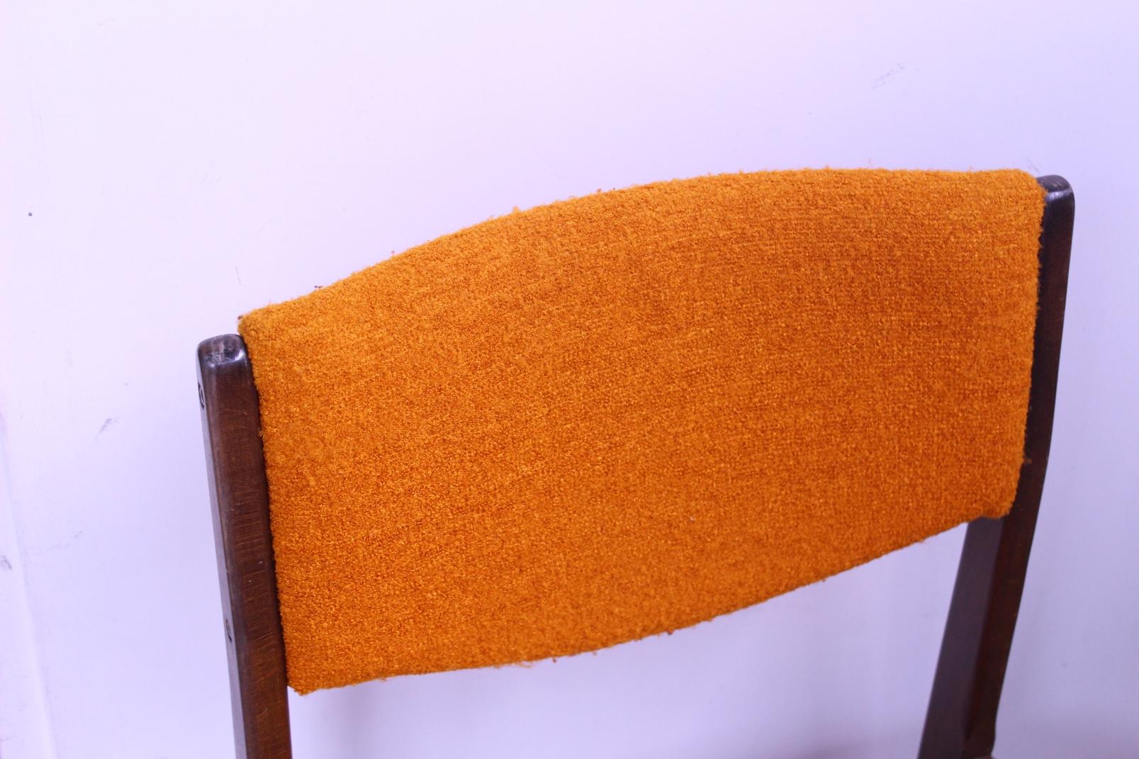 Einzeln O2 Set Braun Stuhl Ddr Zu Tlg Orange Polsterstuhl Details Esszimmer Stühle Küchen CWQexBErod